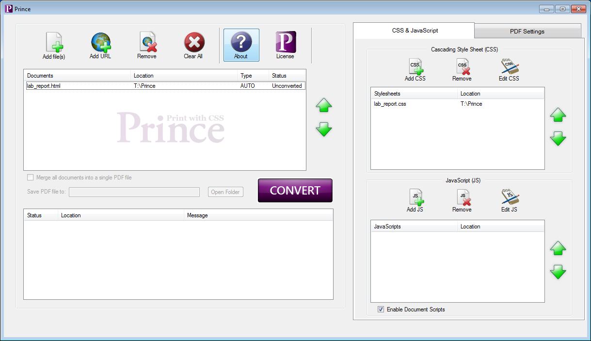 Prince Installation Guide Process Flow Diagram Ubuntu The Gui